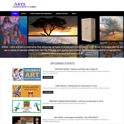 WordPress Website for ACE