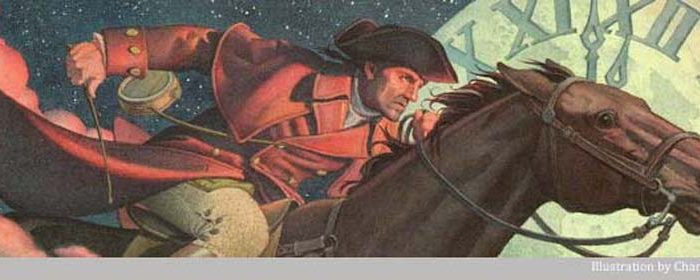 When you're writing about your passions, be paul revere
